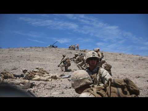 1/3 Marines Conducts Battalion Assault Exercise