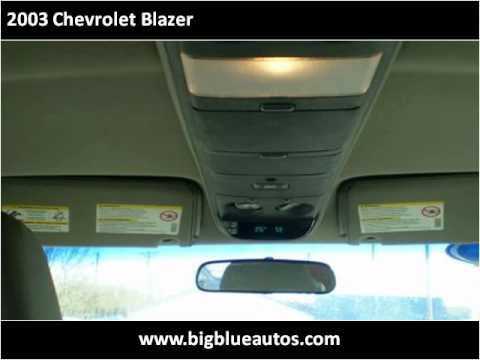2003 Chevrolet Blazer Available From Big Blue Autos Youtube
