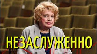 В театре попрощались с великой актрисой Татьяной Дорониной!