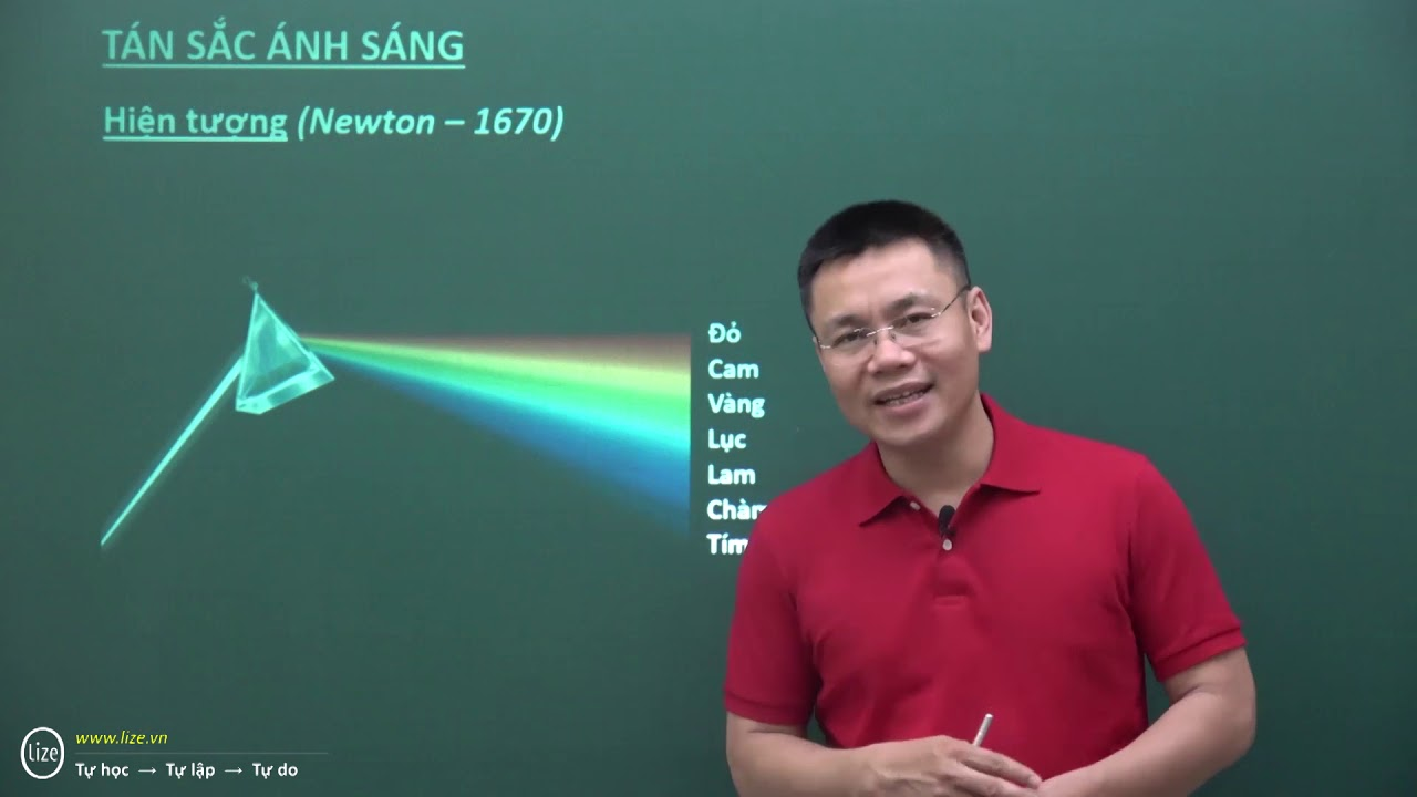 Ôn thi cấp tốc THPTQG môn Vật lí – Tán sắc ánh sáng – Thầy Nguyễn Thành Nam