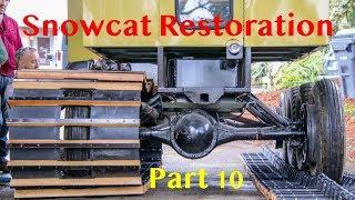 Frandee Sno Shu Model E Snowcat Restoration Part 10