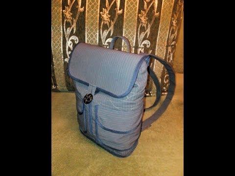 Как сшить сумку рюкзак своими руками выкройки пошаговая инструкция