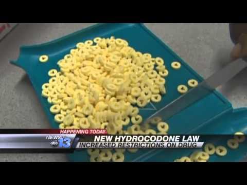 New Hydrocodone Law