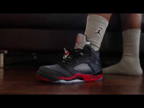 "35d9ff8ba46aea Air Jordan 5 ""Satin"" (Dope or Nope) + On Foot - YouTube"