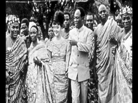 Kwame Nkrumah And The Egyptian Beauty