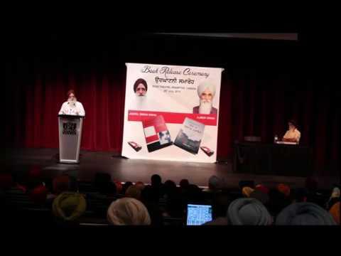 Jaspal Singh Sidhu on Embedded Journalism by Indian Media (Speech at Brampton, Canada)