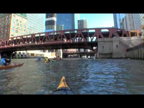 Kayaking on the Chicago River