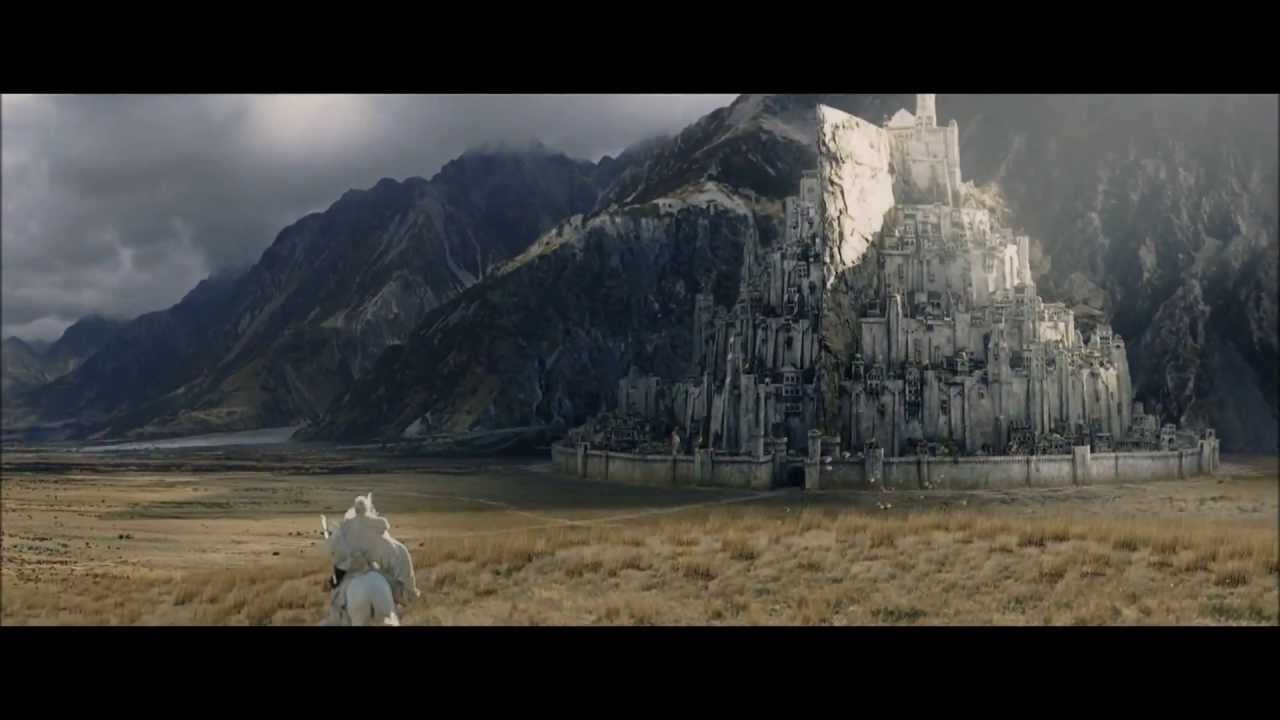 Lotr The Return Of The King Gandalf Ride To Minas Tirith Hd