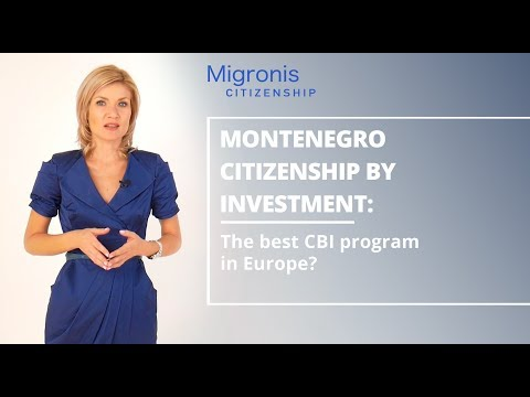 Montenegro citizenship for investment 👉 How to get a Montene