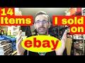 14 Items I sold on eBay - how to make money on eBay