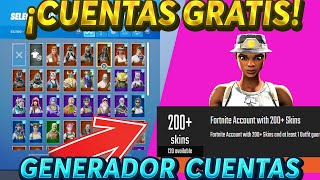 HOW TO GENERATE FORTNITE CHETATE ACCOUNTS/THIS PAGE GIVES YOU CHETED ACCOUNTS😱😱