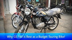 Why GS 150 or 150SE is Best as a Budget Touring Bike?