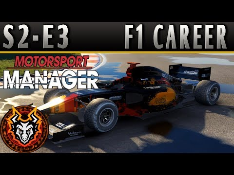 Motorsport Manager F1 Career S2E3 - WHEN YOUR PIT CREW MATTERS!