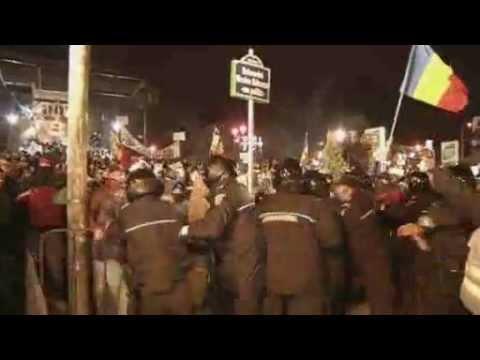 Romania protests over health bill continue