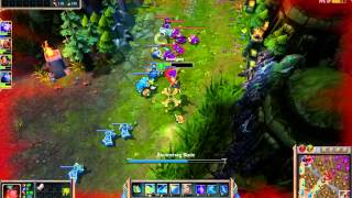 League of Legends Gameplay (FPS WAS HORRIBLE) i need to get an elgato
