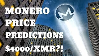 Monero (XMR) Price Predictions & News: $4000/XMR Soon?!
