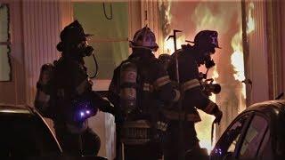 Orangewood Apartments Fire   12/17/17   Levittown, PA.