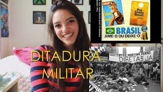 Resumo de História: DITADURA MILITAR (Débora Aladim)