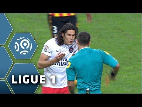 Lens - PSG - 3 cartons rouge en 5 min - 10ème journée de Ligue 1 / 2014-15