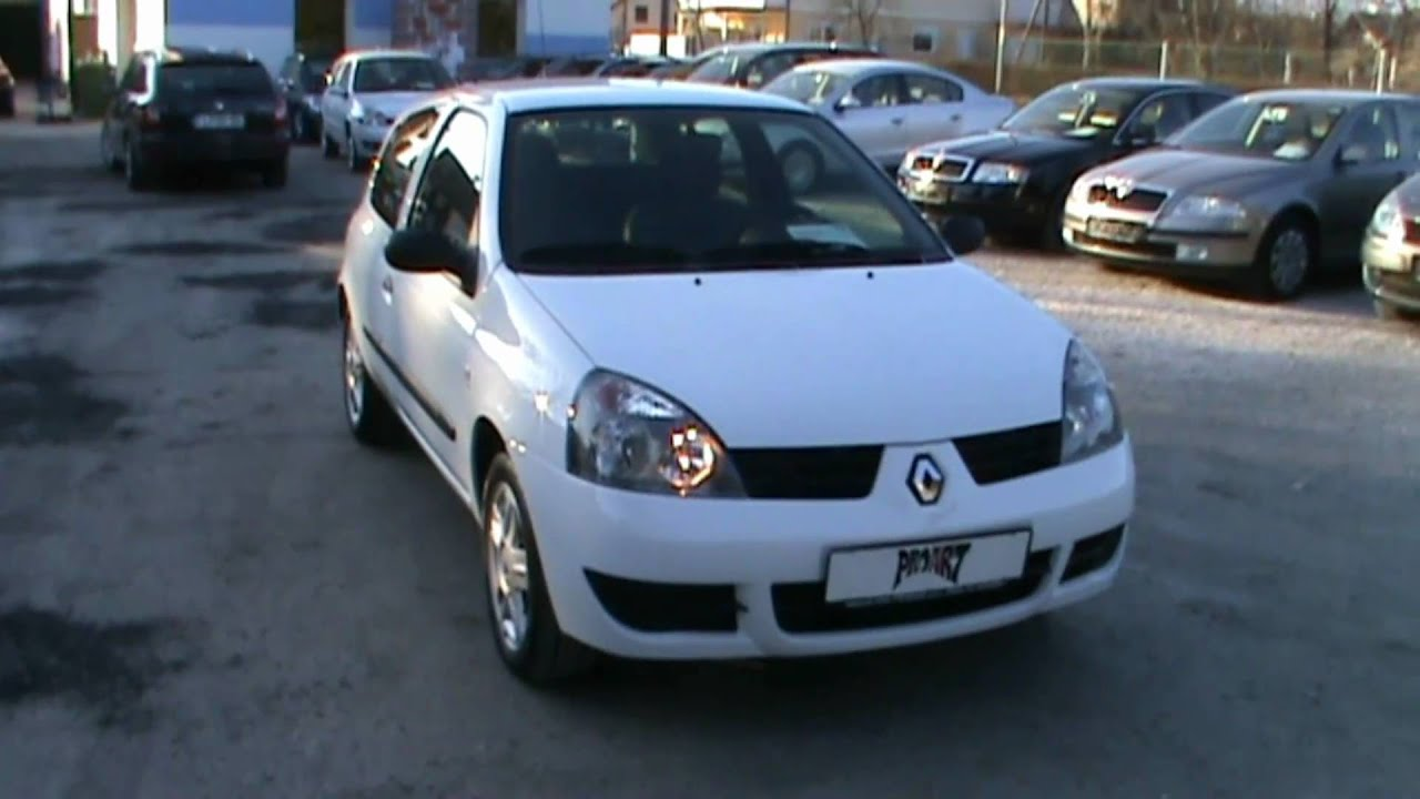 2007 renault clio 1 2 16v storia team review start up engine and in depth tour youtube. Black Bedroom Furniture Sets. Home Design Ideas