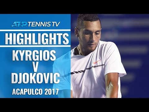 Brilliant Kyrgios Defeats Djokovic in First Meeting | Acapulco 2017