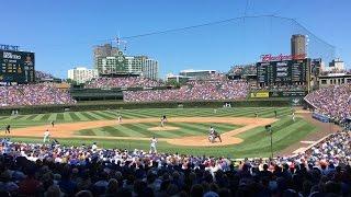 Chicago Cubs vs Texas Rangers - Wrigley Field - 16-Jul-2016