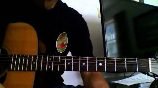Guitar Corner by Randy: Feel A Whole Lot Better, Byrds, example strum