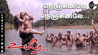 Nenjinile Nenjinile Lyrical Video Song | Uyire 4K Songs | Shahrukh khan| AR Rahman | Preity Zinta