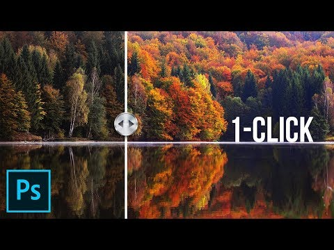 Boost & Enhance Colors with One Click in Photoshop!