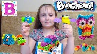 Детский конструктор Банчемс (Bunchems) репейник. Обзор игрового набора 150 деталей.