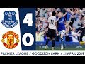 BLUES RUN RIOT AGAINST MAN UNITED! | HIGHLIGHTS: EVERTON 4-0 MAN UTD