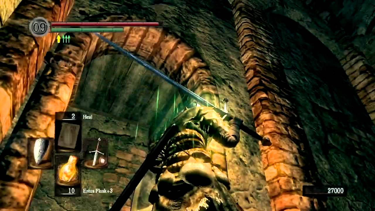 Dark souls - part 14 - sen's fortress and covetous gold ...