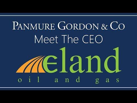 Meet the CEO: George Maxwell, Eland Oil & Gas