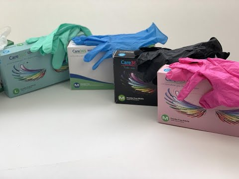 Нитриловые одноразовые  перчатки от Альфа Пак Одесса