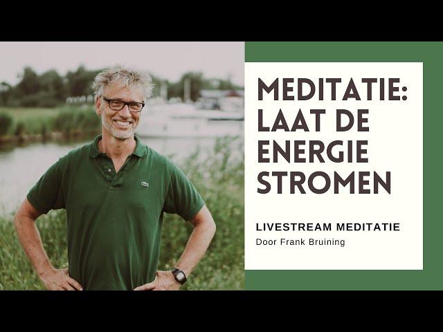Livestream 3 augustus 2020 (meditatie met drum)