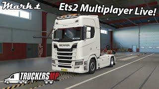 Πάμε όλοι μαζί Euro Truck Simulator 2 Multiplayer L VE