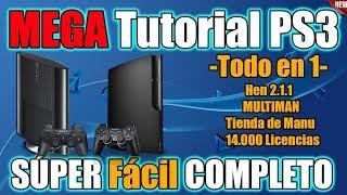 Libera Cualquier PS3 - Nuevo TUTORIAL MEGA FACIL - ACUTUALIZADO y COMPLETO