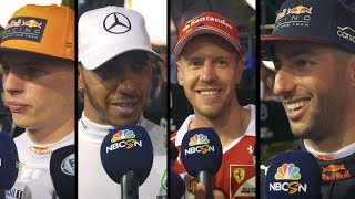 2017 Singapore Grand Prix: Qualifying Reaction