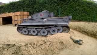 Video RC Tank Tiger 1 Torro Full Metal Battle 1/16 Scale 2015 Part#2 download MP3, 3GP, MP4, WEBM, AVI, FLV November 2017