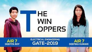 gate 2019 topper deepita roy deepika kumari ee air 7 made easy student toppers talk