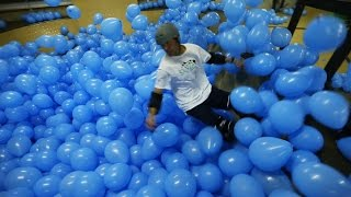 Skateboarding in 5001 Balloons! Thumbnail