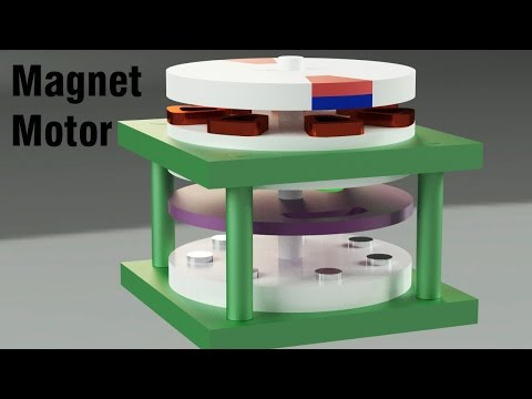Free Energy Generator - Magnet Motor