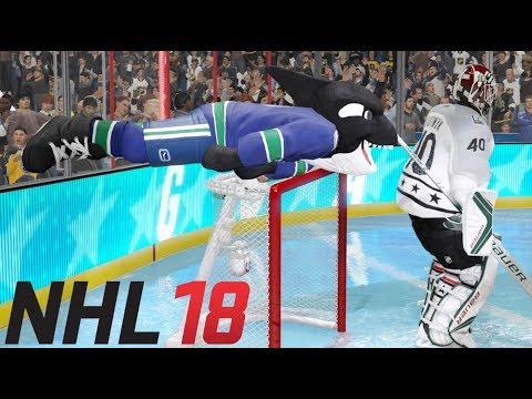 NHL 18 ALL MASCOT CELEBRATIONS