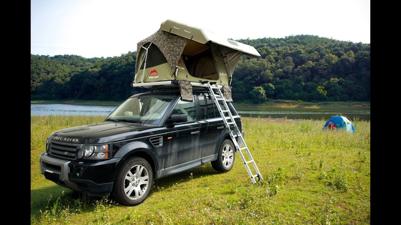 Wildland Automatic rooftop tent Pathfinder II 2014 (?????2014???????) - YouTube : discovery roof top tent - memphite.com