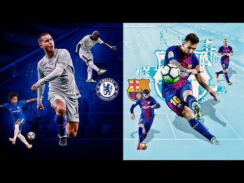 ¡CHELSEA vs BARCELONA! En FIFA 18