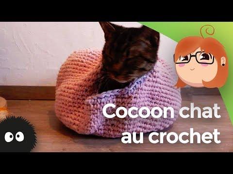 Cocoon Chat Au Crochet
