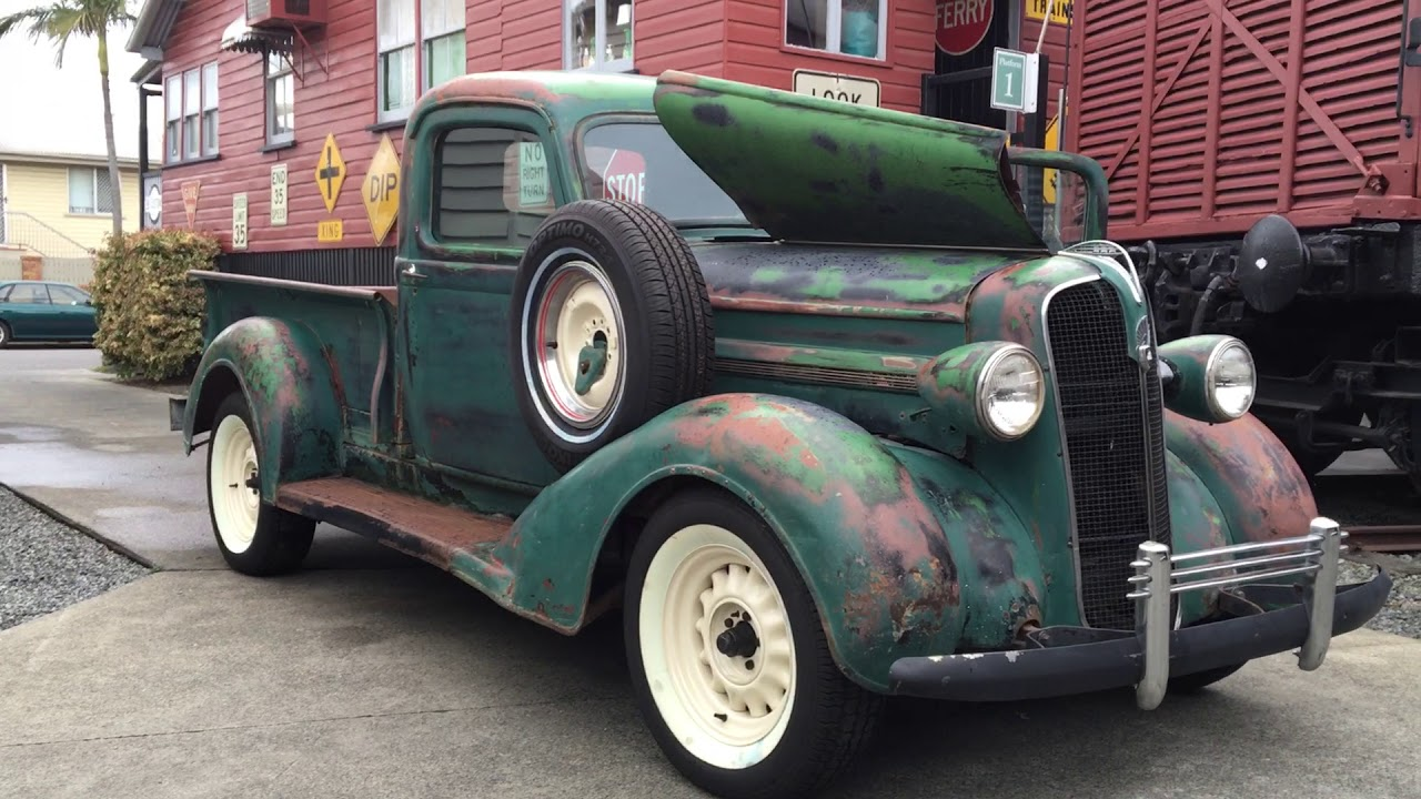 1937 Plymouth Pick Up For Sale In Brisbane