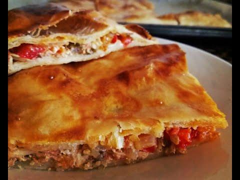 recette-de-la-coca-au-thon-délicieuse-avec-poivron-/-receta-de-la-empanada-con-atún-a-mi-manera