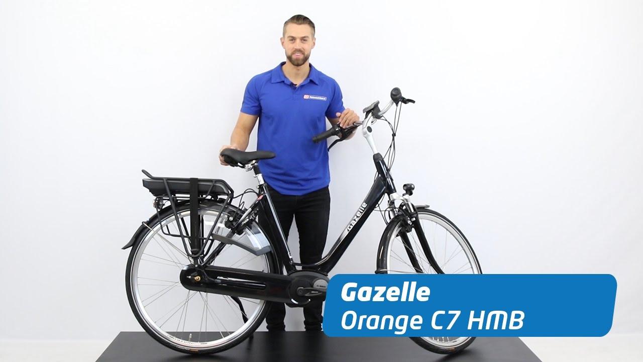 gazelle orange c7 hmb review e bike youtube. Black Bedroom Furniture Sets. Home Design Ideas