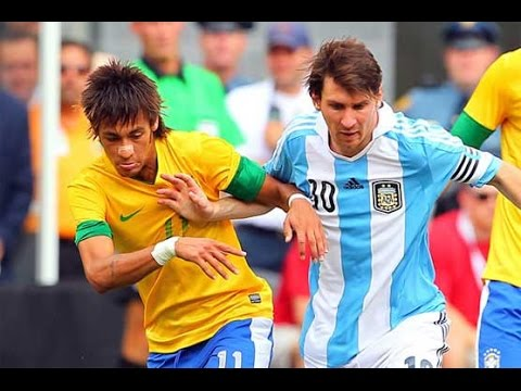 Argentina Vs Brazil 4-3 Highlights Friendly 2012 HD 720p